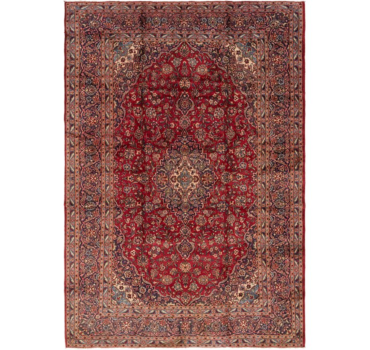 10' x 14' Mashad Persian Rug