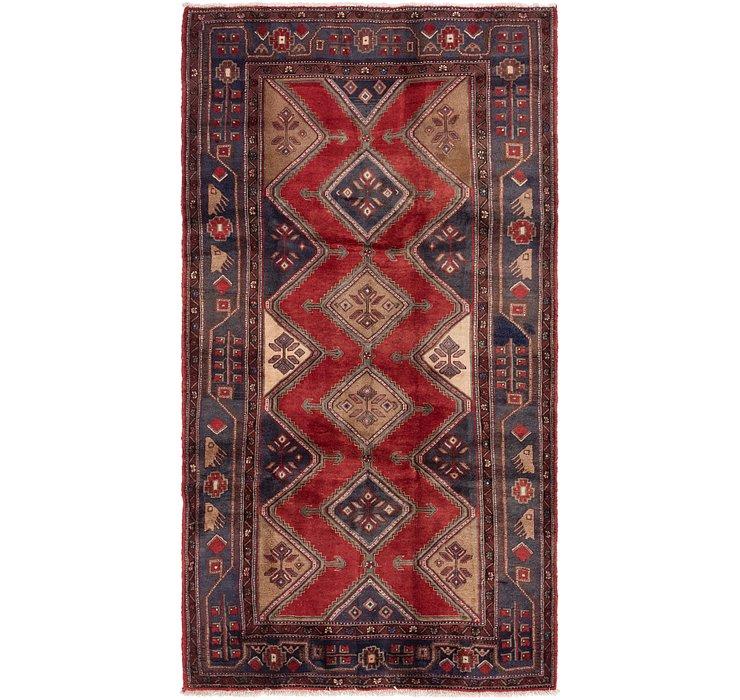 5' x 9' 5 Chenar Persian Runner Rug