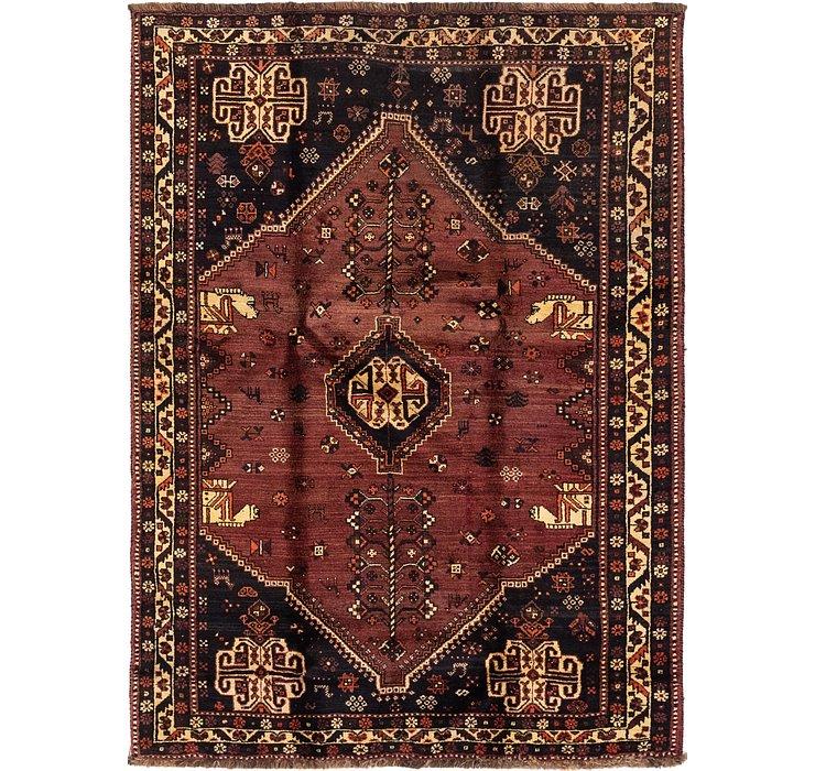 5' x 7' 4 Ghashghaei Persian Rug