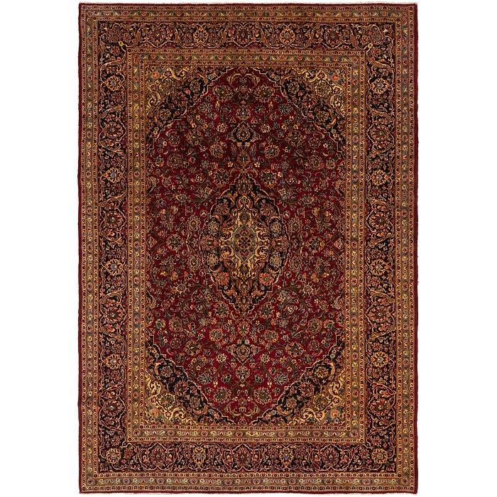 9' 4 x 13' 8 Kashan Persian Rug