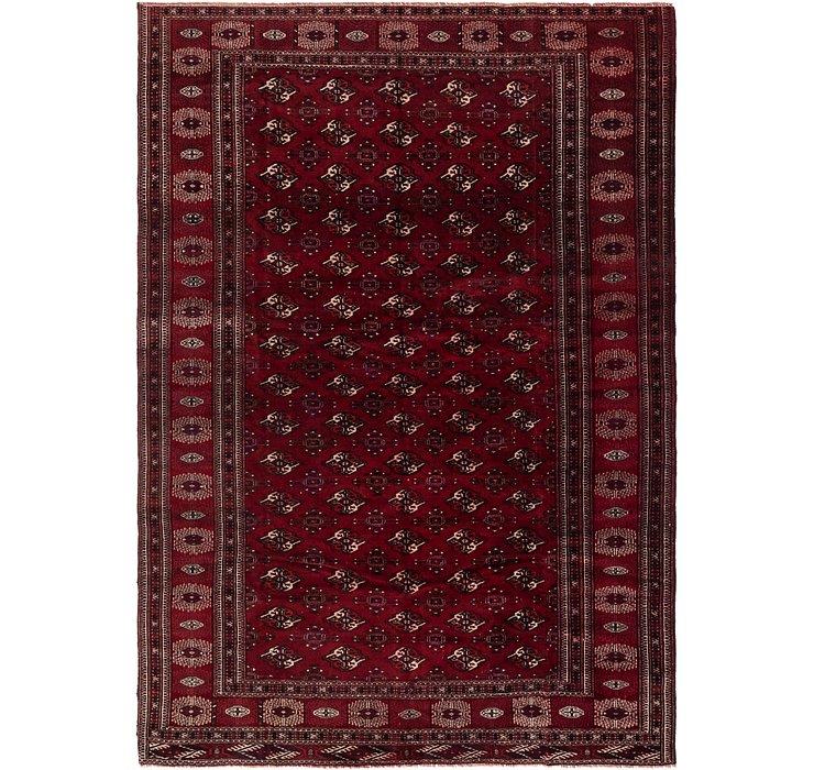 7' 2 x 10' Torkaman Persian Rug