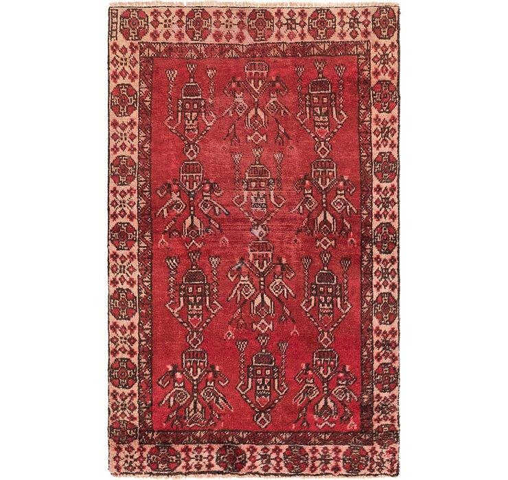 3' 5 x 5' 8 Ferdos Persian Rug
