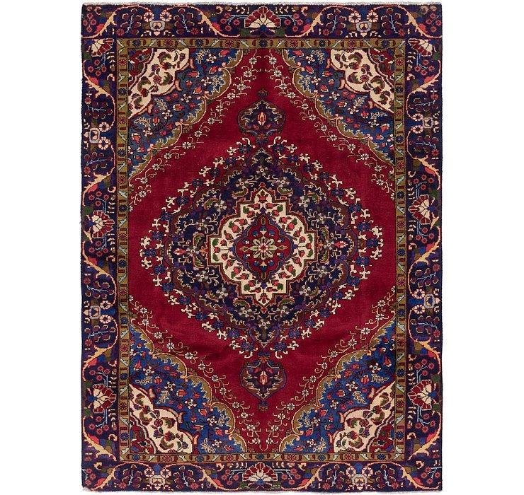6' 4 x 8' 10 Tabriz Persian Rug