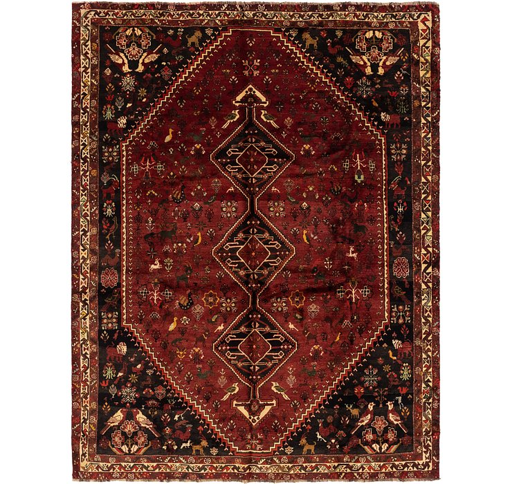 7' 9 x 10' 4 Ghashghaei Persian Rug