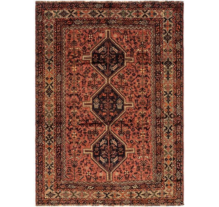 7' 3 x 10' Ghashghaei Persian Rug