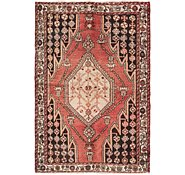 Link to 122cm x 183cm Mazlaghan Persian Rug