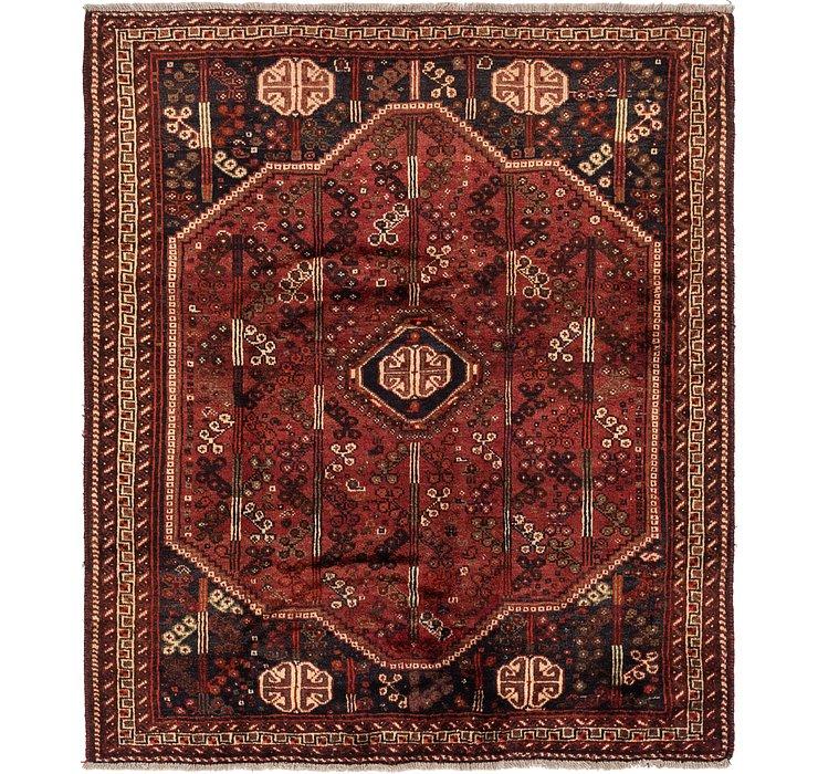 178cm x 203cm Ghashghaei Persian Rug