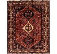 Link to 6' 7 x 8' Ghashghaei Persian Rug