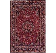 Link to 6' 5 x 9' 5 Mashad Persian Rug