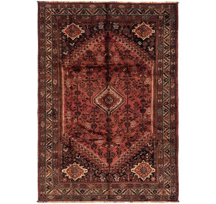 6' 9 x 9' 9 Ghashghaei Persian Rug