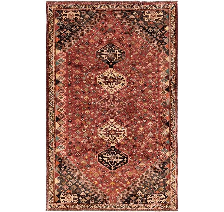 5' 8 x 8' 10 Ghashghaei Persian Rug