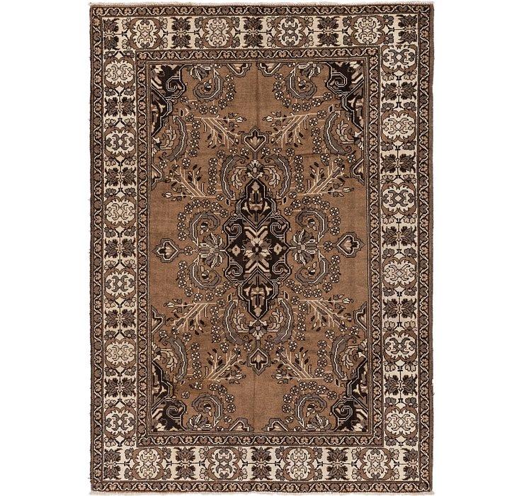 6' 9 x 9' 9 Ferdos Persian Rug
