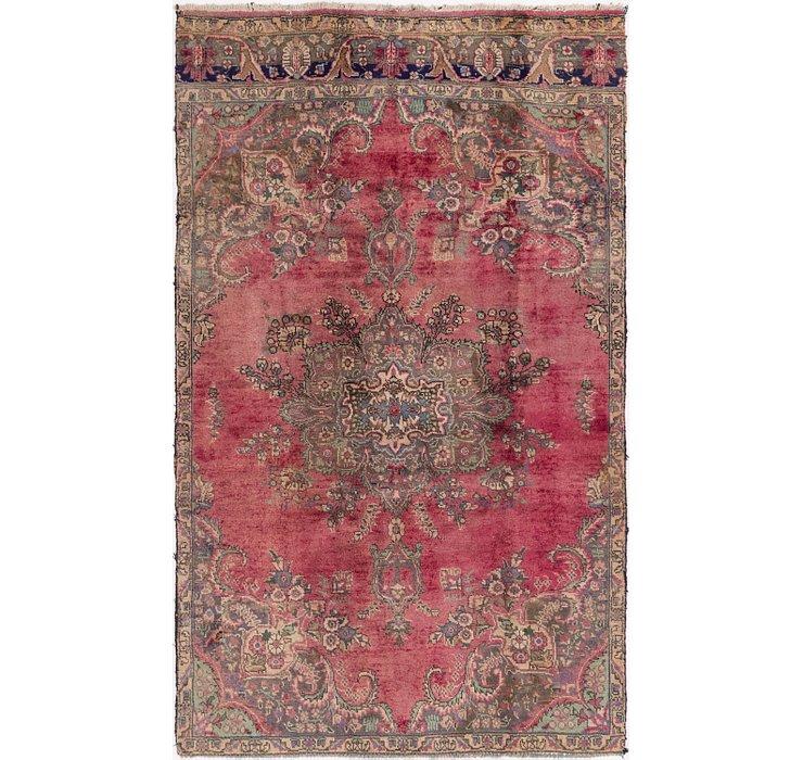 5' 3 x 8' 9 Tabriz Persian Rug