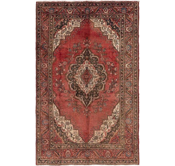 7' x 10' 10 Tabriz Persian Rug