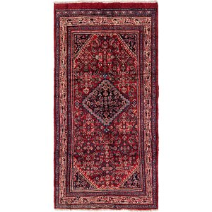 4' 6 x 8' 10 Hossainabad Persian Rug