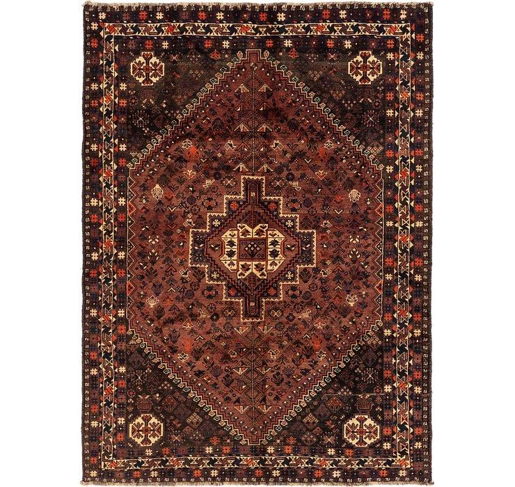 6' 4 x 8' 9 Ghashghaei Persian Rug