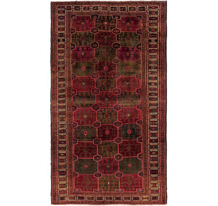 6' 6 x 11' 7 Shiraz Persian Rug
