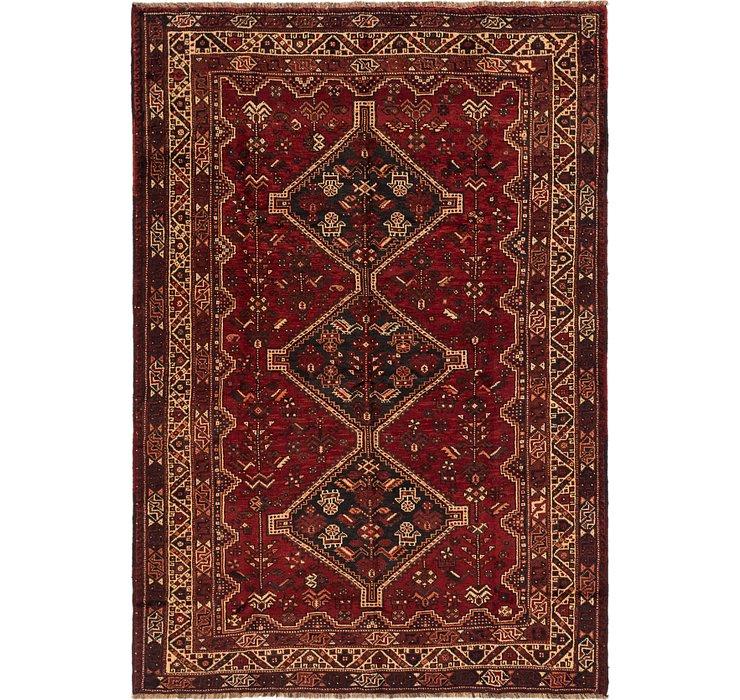 203cm x 295cm Ghashghaei Persian Rug
