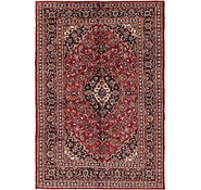 Link to 203cm x 287cm Mashad Persian Rug