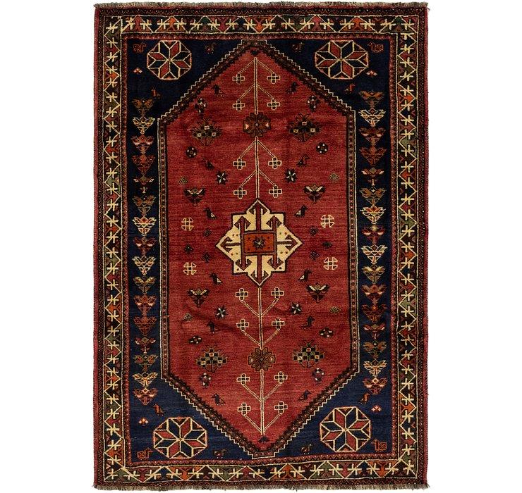 5' 6 x 8' Ghashghaei Persian Rug