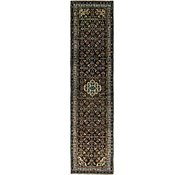 Link to 110cm x 470cm Hossainabad Persian Runner Rug