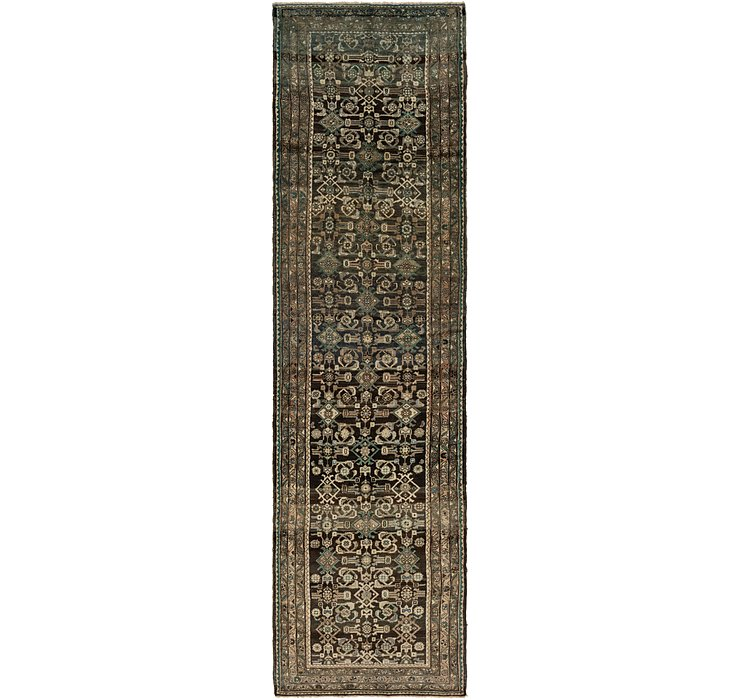 107cm x 410cm Hossainabad Persian Run...
