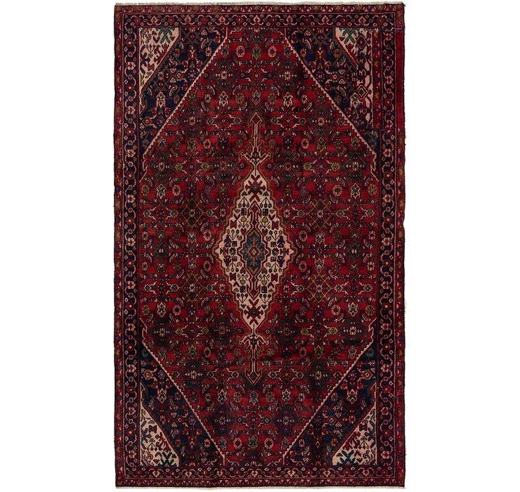 5' 3 x 8' 10 Hamedan Persian Rug