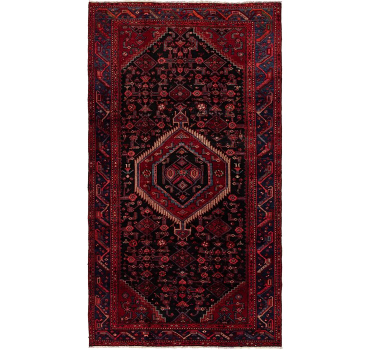 5' x 9' Darjazin Persian Rug