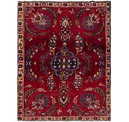 Link to 3' 4 x 4' 4 Tabriz Persian Square Rug