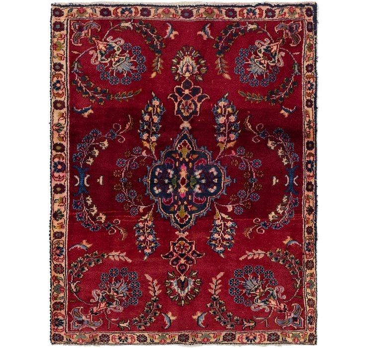 3' 4 x 4' 4 Tabriz Persian Square Rug