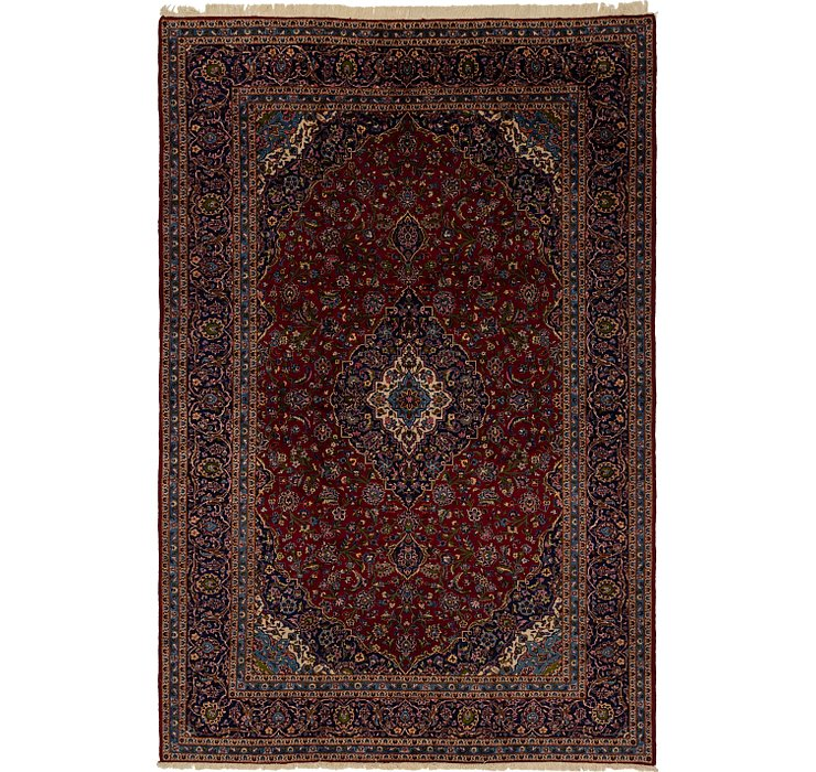 9' 7 x 14' 3 Mashad Persian Rug