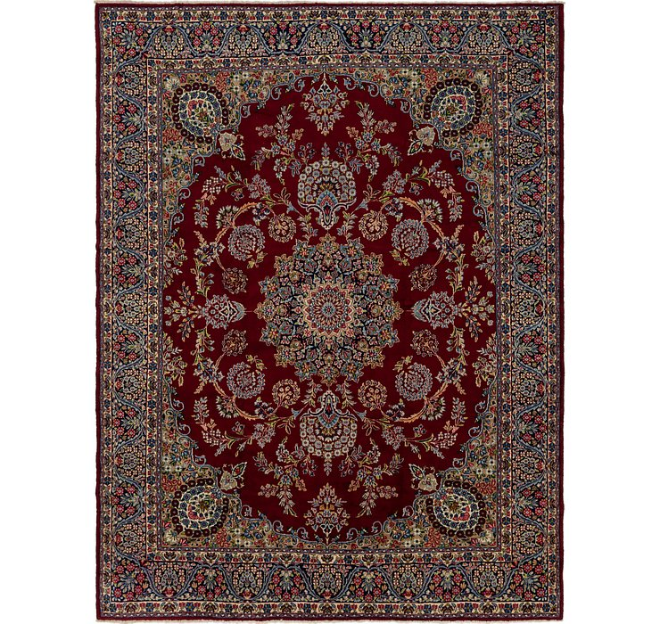 9' 8 x 12' 10 Kerman Persian Rug