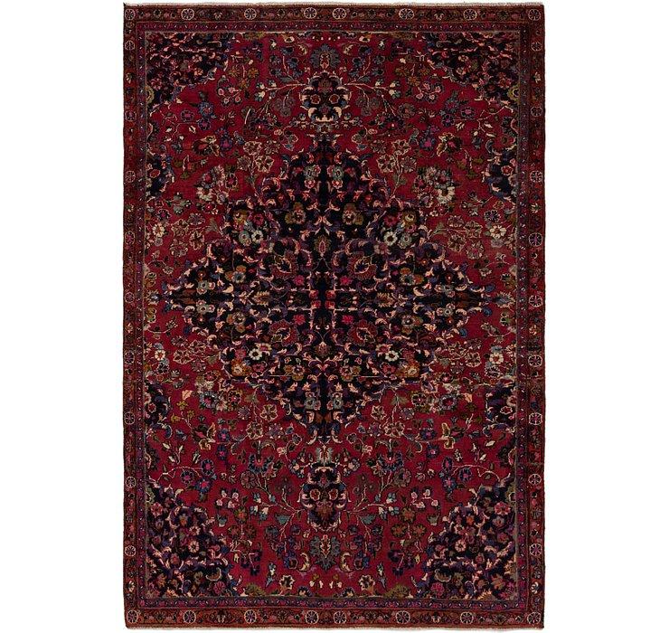 6' x 8' 10 Mashad Persian Rug