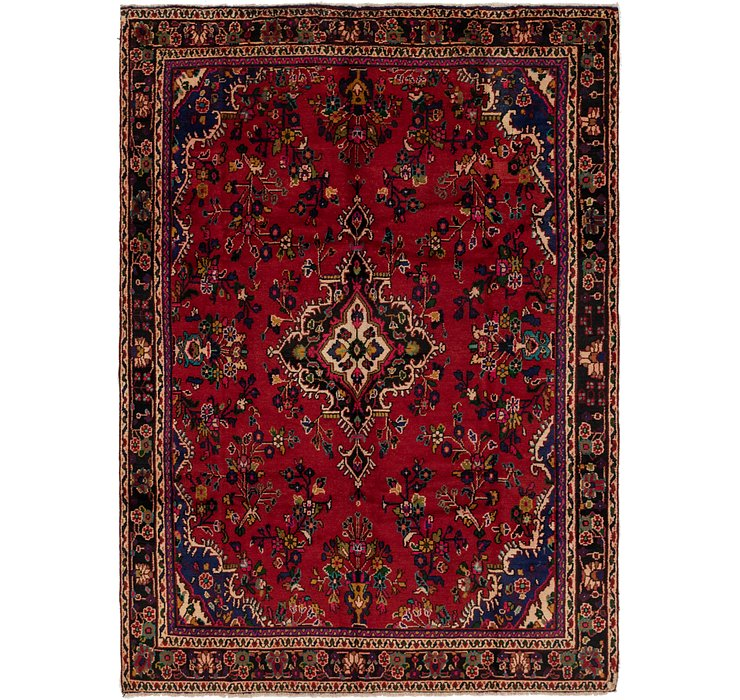 6' 8 x 9' 2 Shahrbaft Persian Rug