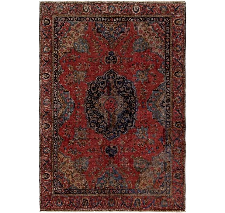 7' 4 x 11' 2 Tabriz Persian Rug