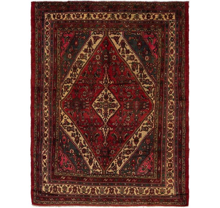 205cm x 287cm Hamedan Persian Rug
