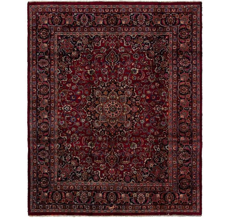 7' 10 x 9' 9 Mashad Persian Rug