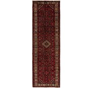 Link to 107cm x 365cm Hossainabad Persian Runner Rug