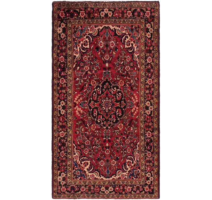 5' 3 x 9' 7 Borchelu Persian Rug