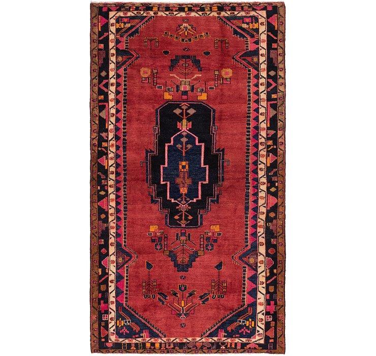 5' 4 x 10' Hamedan Persian Rug