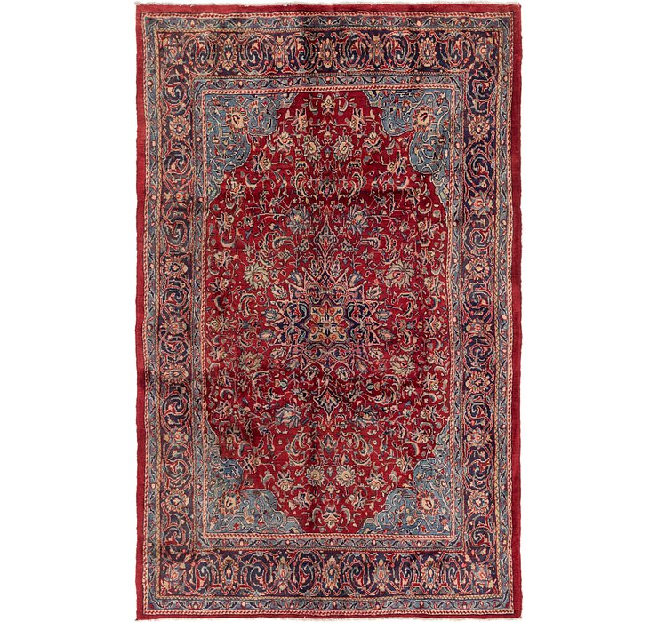 6' 9 x 10' 8 Sarough Persian Rug