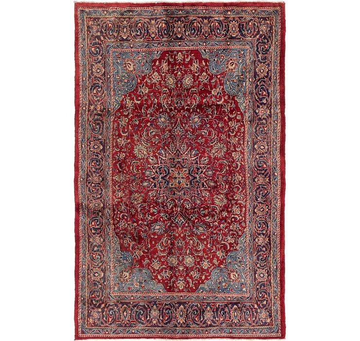 6' 9 x 10' 8 Sarough Persian Rug