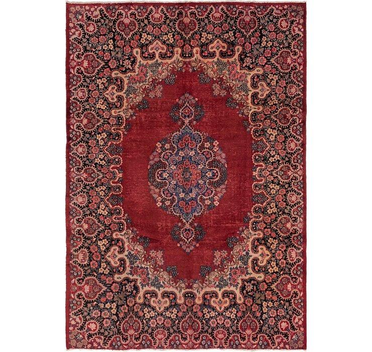213cm x 305cm Kerman Persian Rug