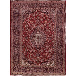 Link to 213cm x 290cm Mashad Persian Rug item page
