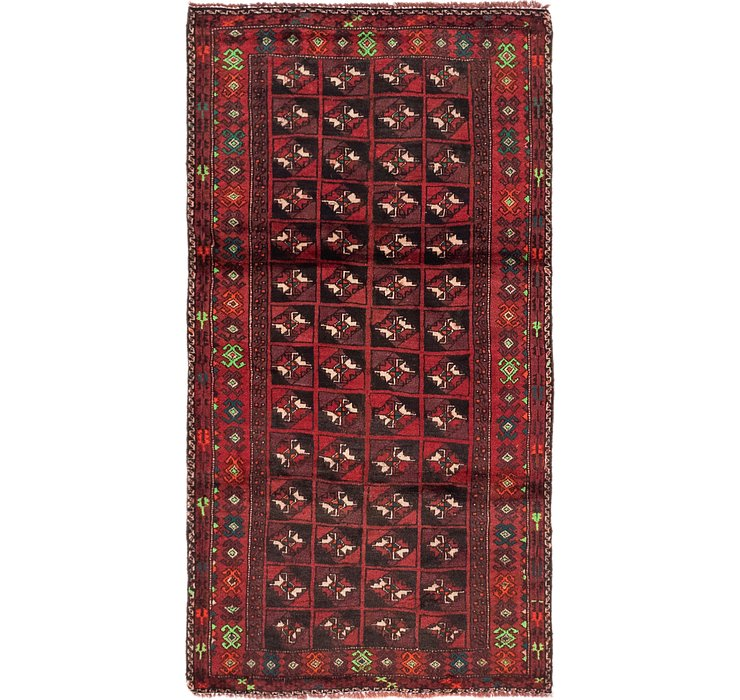 3' x 5' 8 Balouch Persian Rug