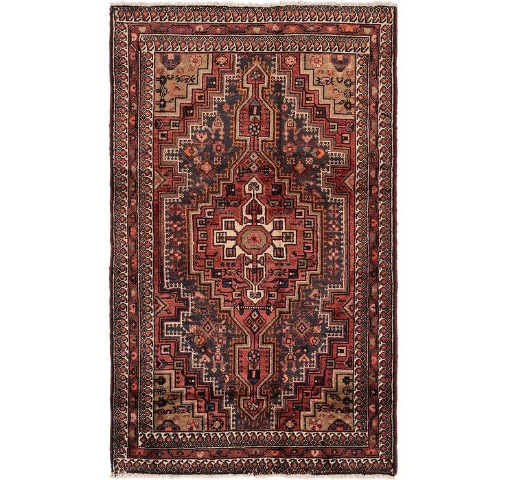 4' 4 x 7' 3 Tuiserkan Persian Rug
