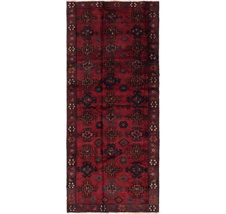 3' 8 x 8' 6 Shiraz Persian Runner Rug