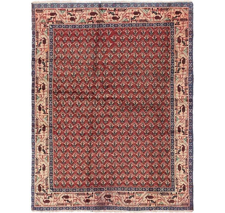 4' 4 x 5' 6 Botemir Persian Rug