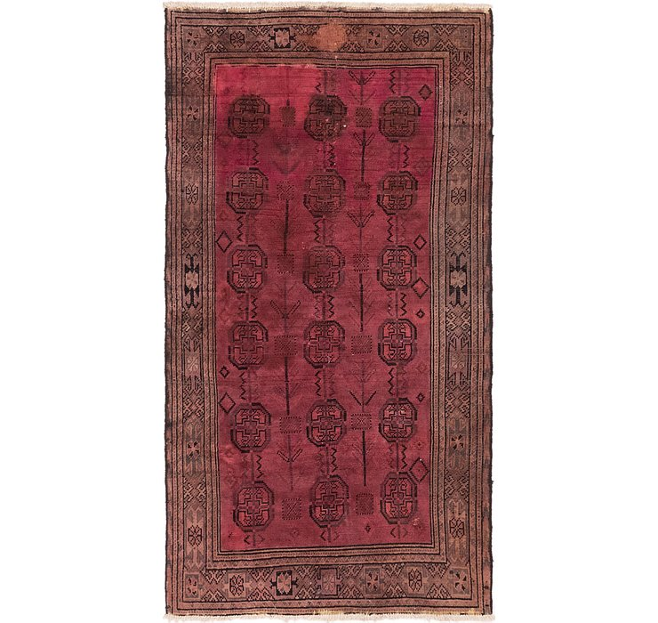 112cm x 208cm Balouch Persian Rug