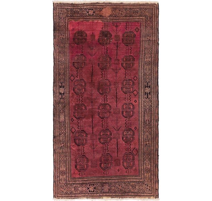 3' 8 x 6' 10 Balouch Persian Rug